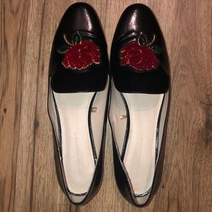 Zara Patent Leather Flats